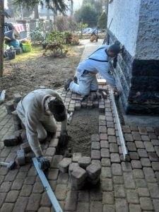 Akazienstraße | Pflasterarbeiten